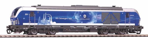 Piko 47397 - German Diesel Locomotive BR 247 Vectron InfraLeuna