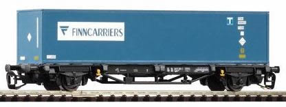Piko 47713 - TT Flat w/Container Finncarriers DB V