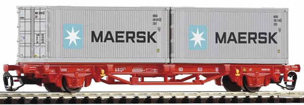 Piko 47720 - Freight Wagons with Container Cars Type Lgs579