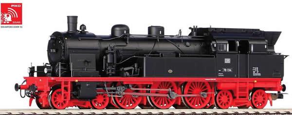 Piko 50602 - German Steam locomotive BR 78 of the DB (DCC Sound Decoder)