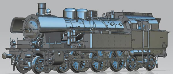 Piko 50607 - German Steam locomotive class 78 of the DR (Sound)