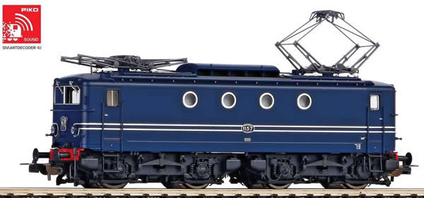 Piko 51367 - Dutch Electric locomotive Rh 1100 of the NS (Sound)