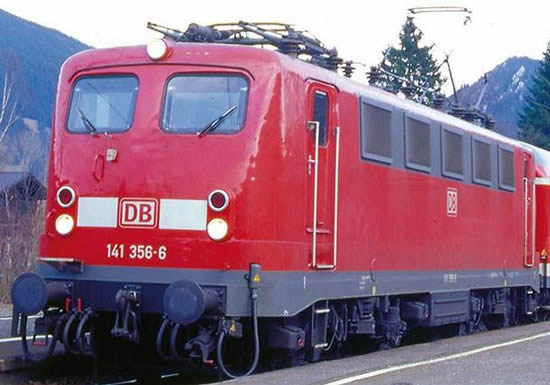 Piko 51518 - German Electric Locomotive BR 141 of the DB - red (DCC Sound Decoder)