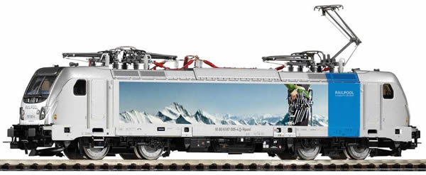 Piko 51572 - Electric Locomotive series 187 of the Railpool BLS