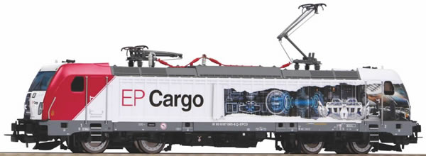 Piko 51588 - Czech Electric locomotive BR 187 of the EP Cargo