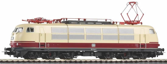 Piko 51671 - German Electric Locomotive BR 103 of the DB - red/beige
