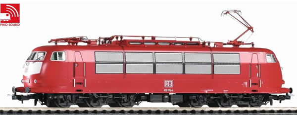Piko 51675 - German Electric Locomotive BR 103 of the DB (Sound)