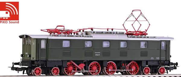Piko 51822 - German Electric Locomotive E 52 of the DB (Sound)