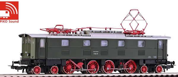 Piko 51823 - German Electric Locomotive E 52 of the DB (Sound)