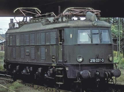 Piko 51863 - German Electric Locomotive BR 218 of the DR