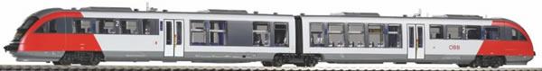 Piko 52093 - Austrian Diesel railcar Desiro Baureihe 5022 of the ÖBB (DCC Sound Decoder)