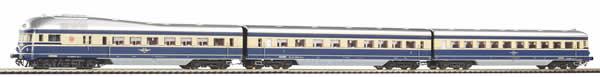 Piko 52271 - Austrian Diesel Railcar Rh 5045 of the BBÖ (Sound)