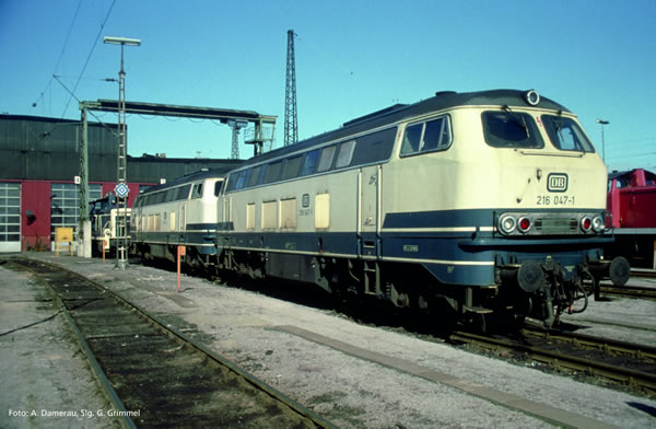 Piko 52411 - German Diesel Locomotive class 216 of the DB (Sound)