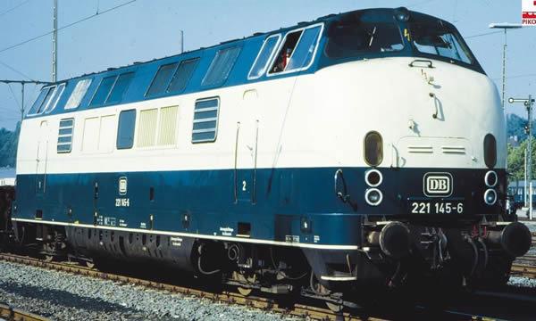 Piko 52605 - German Diesel Locomotive BR 221 of the DB