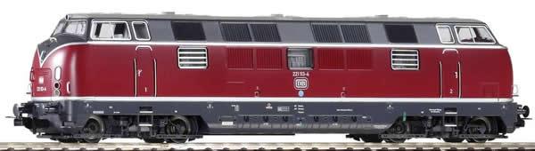 Piko 52607 - German Diesel Locomotive BR 221 of the DB