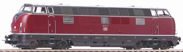 Piko 52611 - German Diesel Locomotive BR 221 of the DB