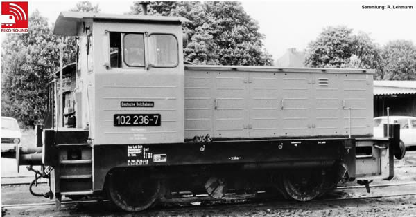 Piko 52634 - German Diesel Locomotive BR 102.1 of the DR (DCC Sound Decoder)