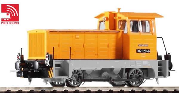 Piko 52635 - German Diesel Locomotive BR 102.1 of the DR (Sound Decoder)