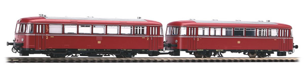 Piko 52726 - German Railbus VT 98 plus VS 98 of the DB