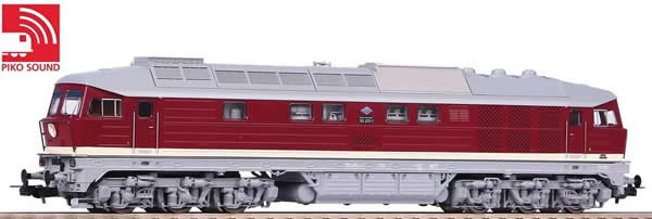 Piko 52766 - German Diesel Locomotive BR 132 of the DR (Sound)