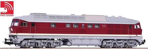 Piko 52767 - German Diesel Locomotive BR 132 of the DR (Sound)