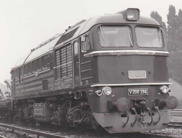 Piko 52803 - German Diesel Locomotive BR V 200 of the DR (Sound Decoder)