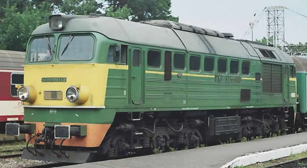 Piko 52805 - Polish Diesel Locomotive ST44 of the PKP (DCC Sound Decoder)