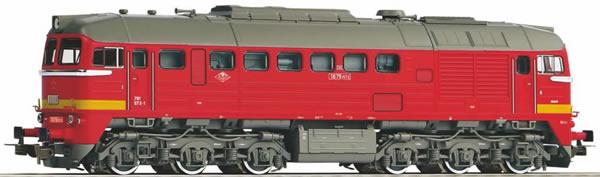 Piko 52814 - Czechoslovakian Diesel locomotive T679.1 of the CSD