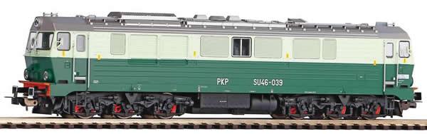 Piko 52863 - Polish Diesel Locomotive BR SU46 of the PKP (Sound)