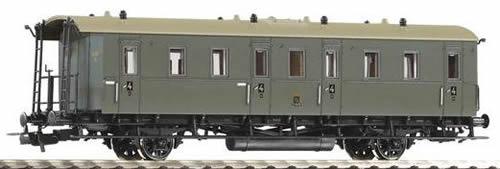 Piko 53154 - Saxon Coach DiSa13 4th Cl. KSStEB I