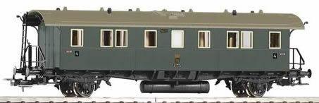 Piko 53156 - Saxon Coach DiSa09 4th Cl. KSStEB I