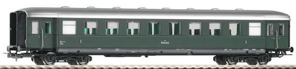 Piko 53280 - 3rd Class Passenger Coach C4ipu