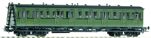 Piko 53312 - Comp Car 2nd Cl. SNCF III