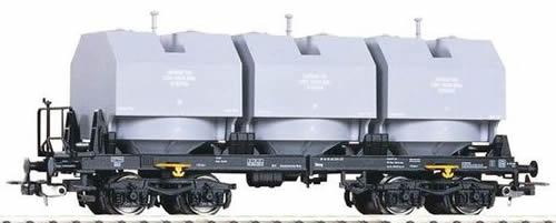 Piko 54450 - 3 Silo Container Car Slmmp DR IV