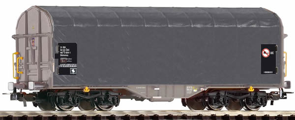Piko 54586 - Transport car with sliding tarp cover of the CD Cargo