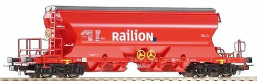 Piko 54630 - 4-Bay Covered Hopper DB Cargo V
