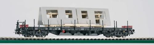 Piko 54813 - HD Flat Car Ssly w/Walls DR IV