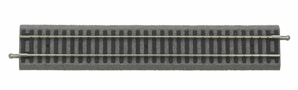 Piko 55400 - Straight Track with bedding, G 239 mm, VE 6