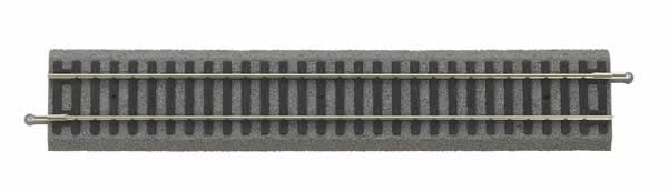 Piko 55401 - Straight Track with bedding, G 231 mm, VE 6