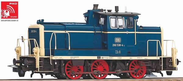 Piko 55901 - German Diesel Locomotive BR 260 of the DB (Sound)