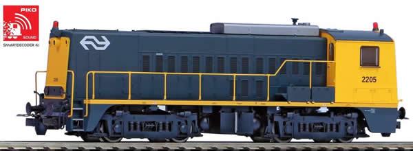Piko 55903 - Dutch Diesel Locomotive Rh 2200 of the NS (Sound)
