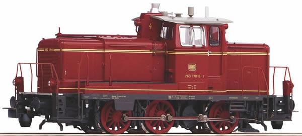 Piko 55907 - German Diesel locomotive BR 260 of the DB (Sound)