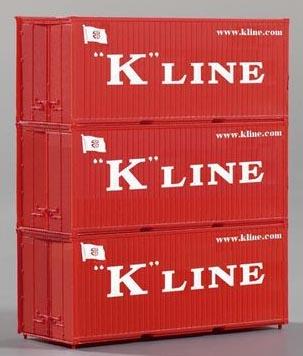 Piko 56220 - Container 20 K Line 3 Pcs