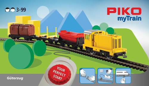 Piko 57090 - MyTrain Freight Train Starter Set with Diesel Locomotive