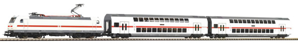 Piko 57133 - Starter Set - German Electric Locomotive BR 146 & 2 Passenger Coaches of the DB AG