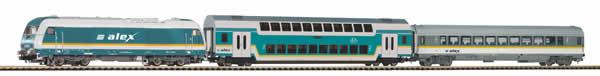 Piko 57137 - German Starter Set Passenger Train ALEX
