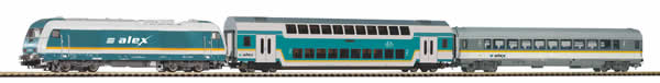 Piko 57137 - German Starter Set Passenger Train ALEX
