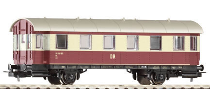 Piko 57633 - Passenger Car 2nd Cl. DR III Red/Beige