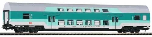 Piko 57680 - Bi-Level Coach Dbmu 748 DB V Turquoise