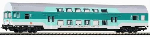 Piko 57681 - Bi-Level Control Coach DBmq 776 DB V Turquoise